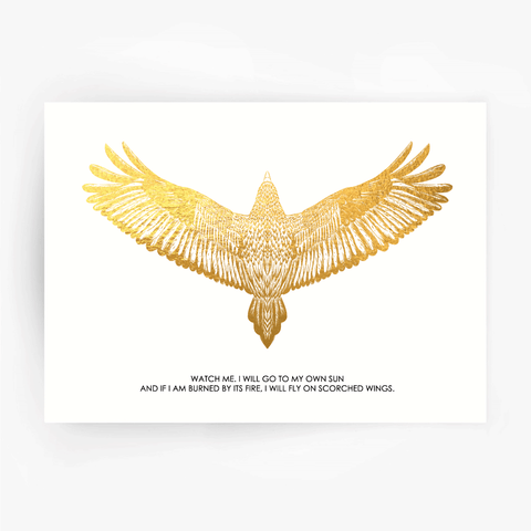 FALCON Watch Me Print Gold