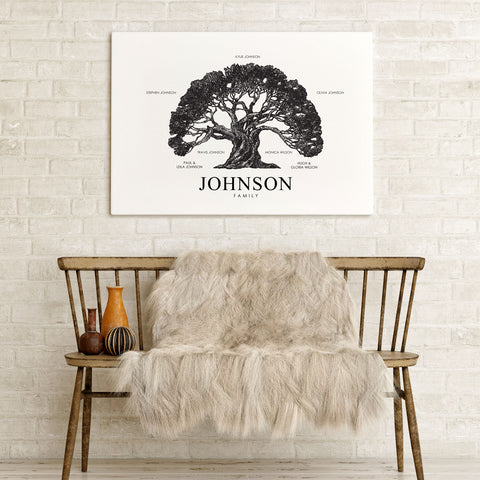 Customised Family Tree Print