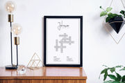 FAMILY Name Crossword Print A3