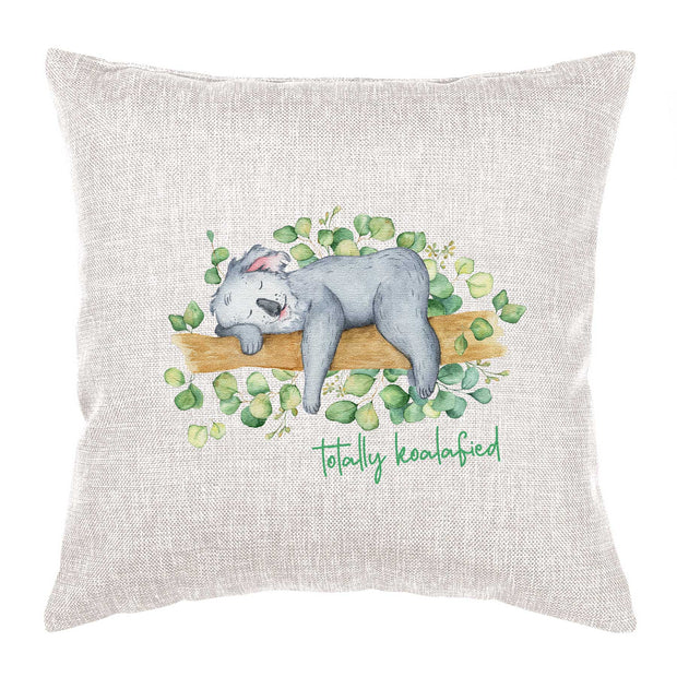 Koala Cushion - Totally Koalafied
