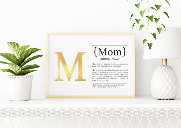 MOM Definition Art Print Lifestyle Image