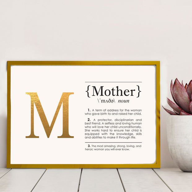 MOTHER Definition Art Print Lifestyle