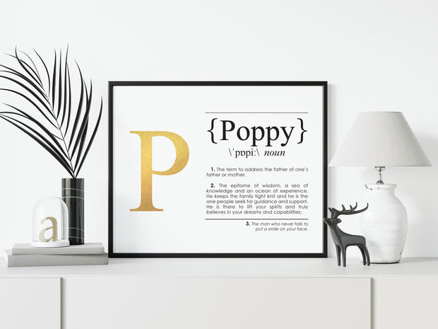 POPPY Definition Art Print Lifestyle Image