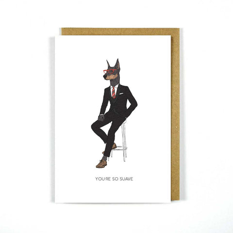 Greeting Card So Suave