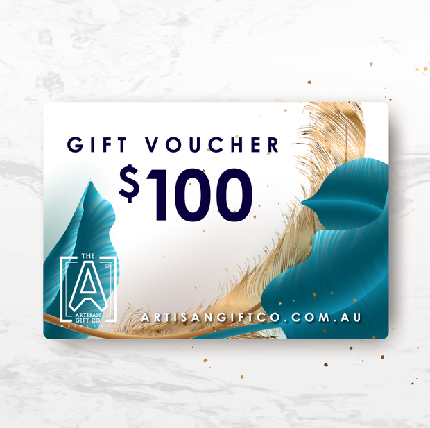 Gift Card The Artisan Gift Co $100