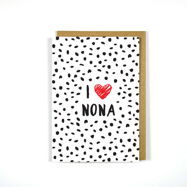 Greek Mother's Day Card Nona