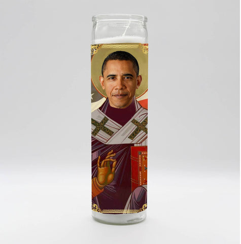No. 44- Barack Obama Candle
