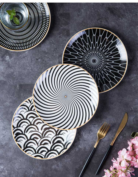Let's Get Brunchin' Geometric Plates