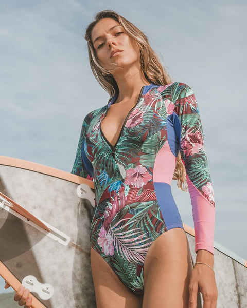Surfer Girl One Piece Swimsuit