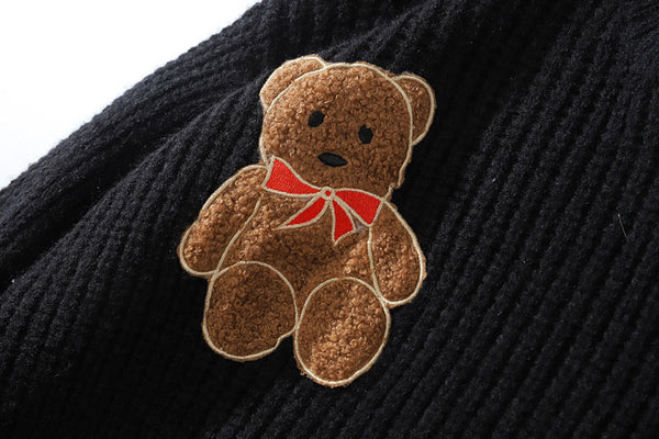 Bears Knitted Streetwear
