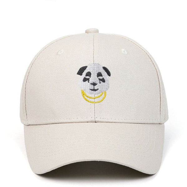 Panda Gold Chain Adjustable Baseball Cap