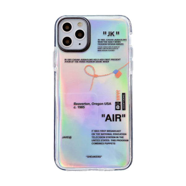 Iridescent Silicon case for iPhone