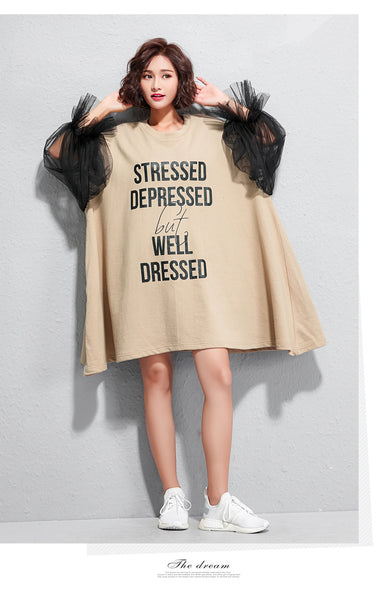 Quarantine Statement Dress