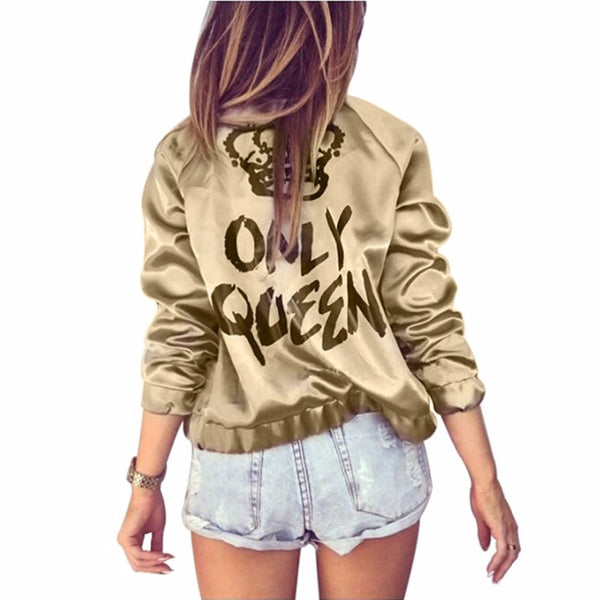 Queen Bomber Jacket