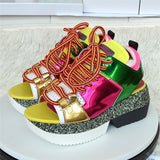 Zero Introduction Platform Sneakers Sandals