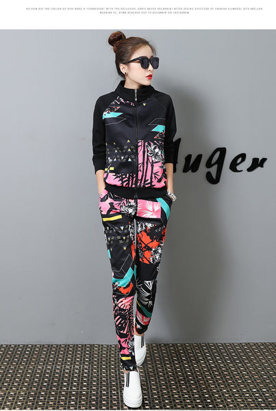 City Lights Two Piece Tracksuit