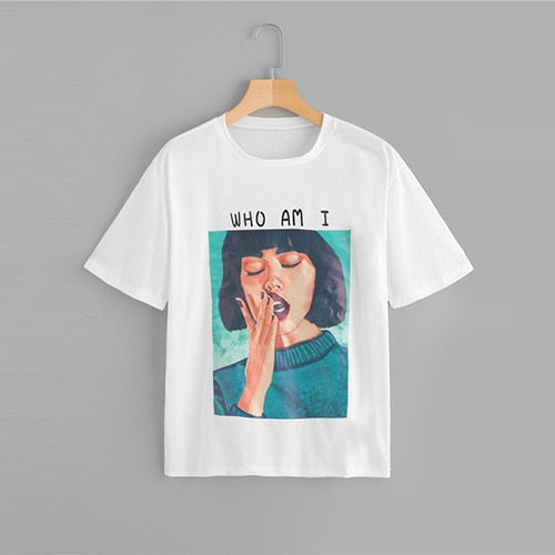 """Who am I"" Graphic T"