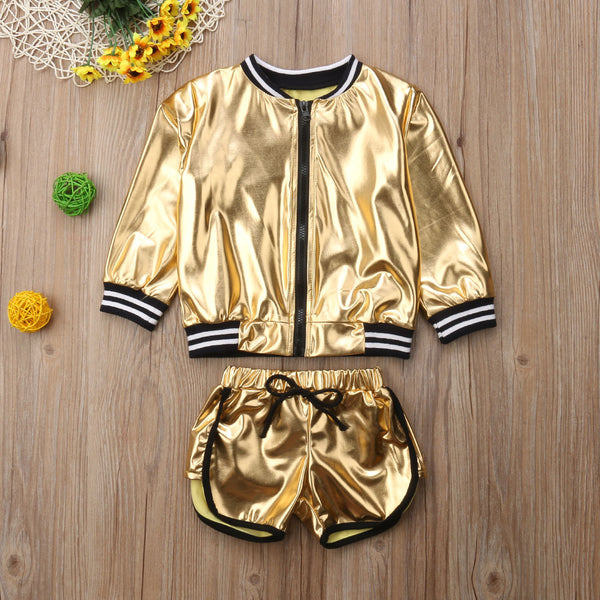 24K Magic Kids Short Set