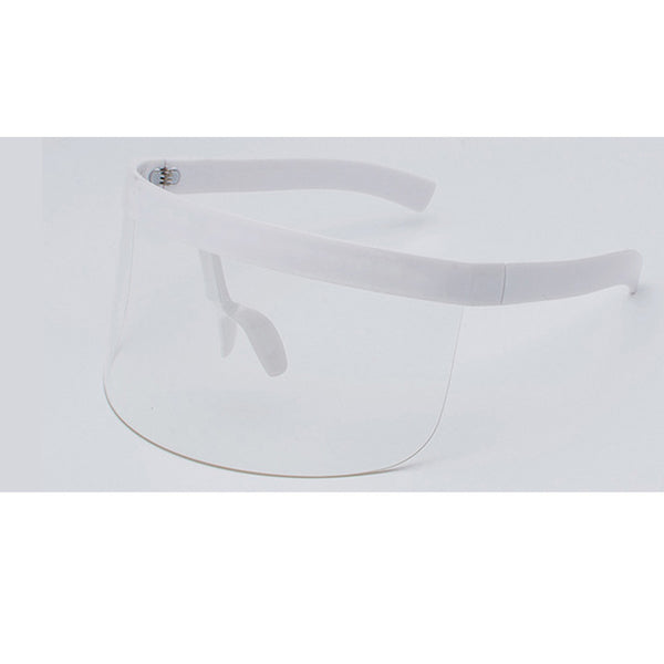 Retro Oversized Visor Shades