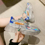Futuristic Transparent Sneakers