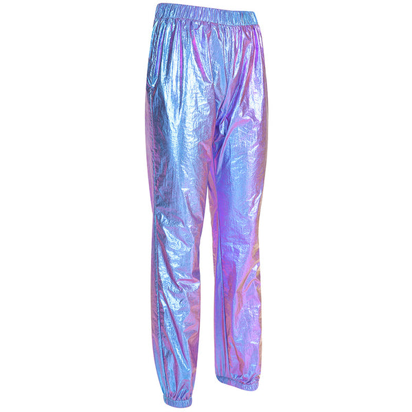 Holographic Women Joggers