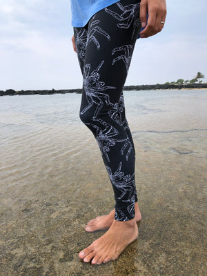 Full Length A'ama Crab Leggings