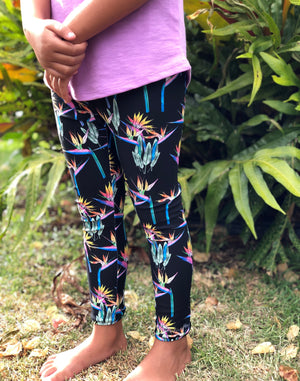 Keiki Bird of Paradise Leggings