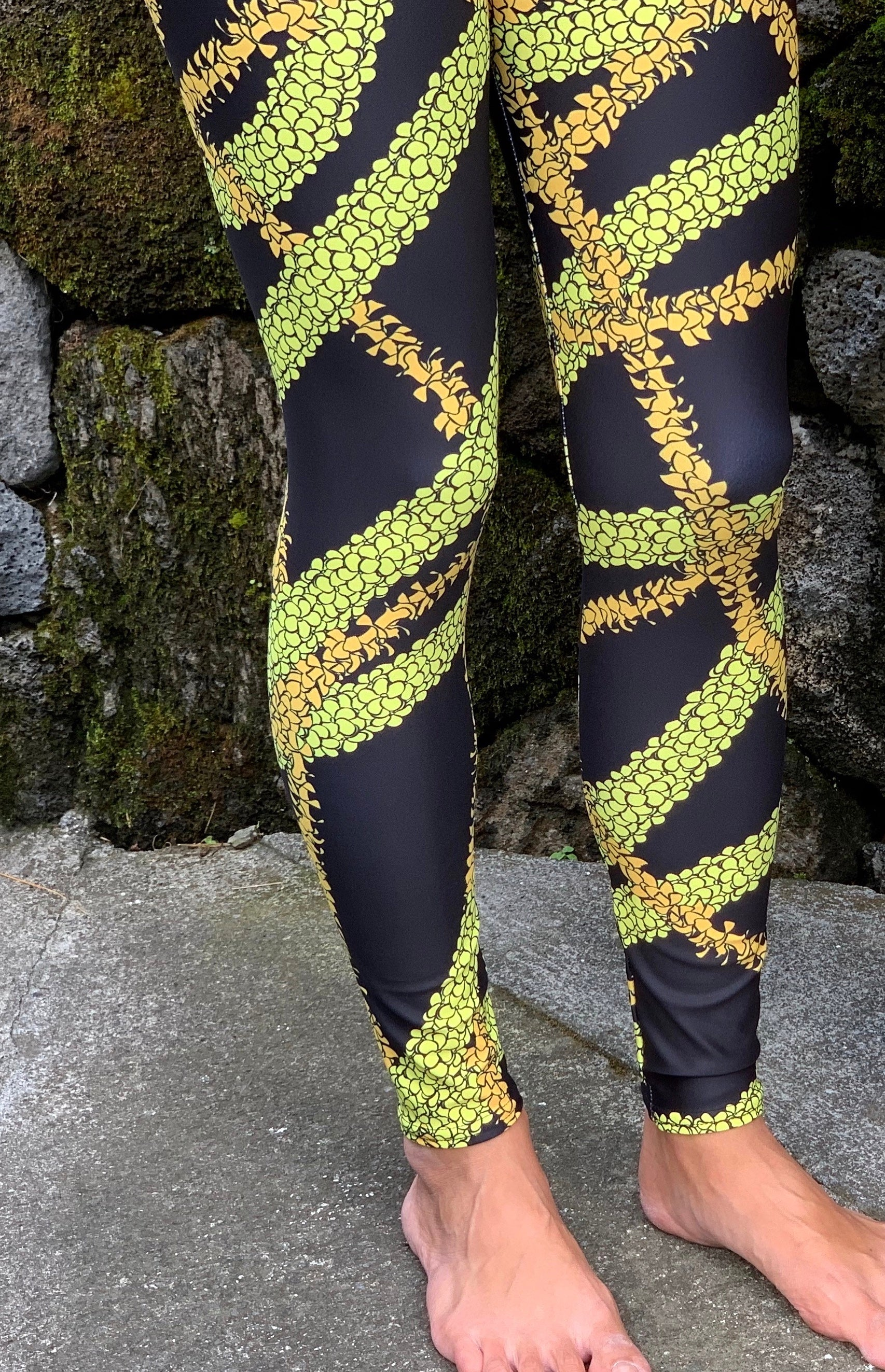 Full Length Puakenikeni Leggings