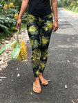 Full Length Yellow 'Ōhi'a Lehua Leggings