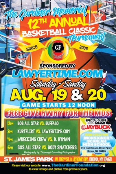 The Gardiner Memorial 12th Annual Basketball Classic Tournament: Another Year of Fun, Action and Support In the Bronx Community