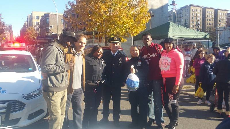 The 7th Annual Gardiner Turkey Giveaway was a great success
