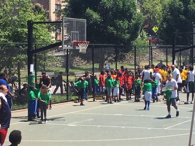 Fun-filled Day For The Community Youth At The Gardiner Foundation Basketball Clinic