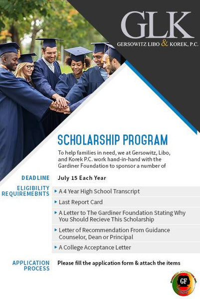 Gardiner Foundation Scholarship
