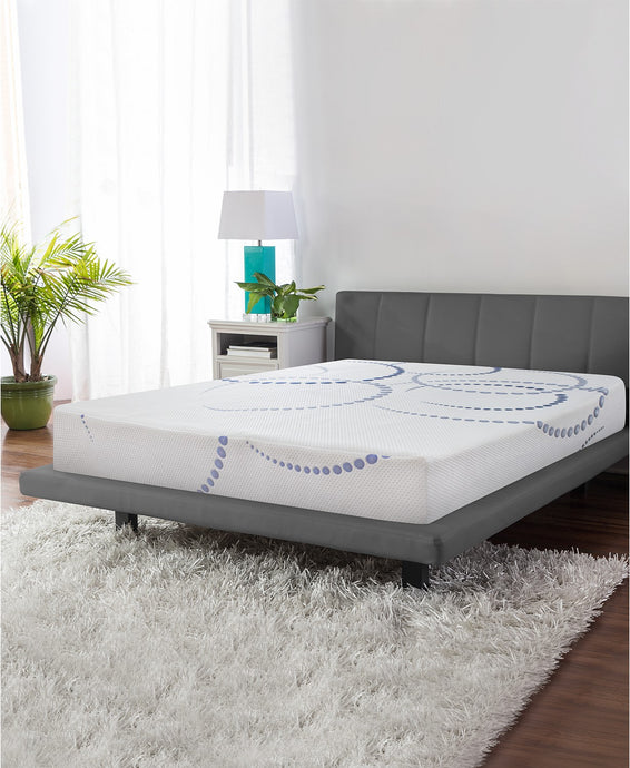 Firm Gel-Infused Memory Foam Mattress
