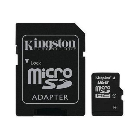 Carte Mémoire Micro SDHC - 8GB - Kingston