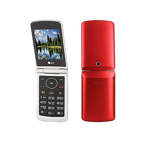 GSM LG G360 Clapet Double SIM Red