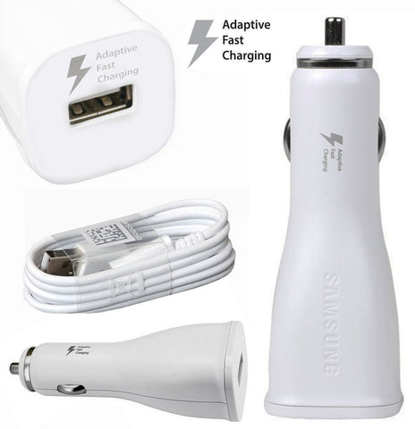Chargeur Samsung Rapide Allume-cigare + Câble USB
