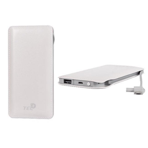 TEL1 Slim Batterie de Secours PowerBank 12000mAh Ultra-fin