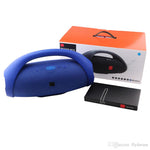 Enceinte Haut Parleur Sans Fil Portable Boombox Bluetooth + Power Bank - Blue