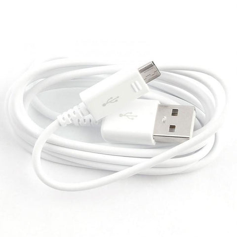 Câble Data USB Micro USB (1m) Charge/Synchro - Blanc