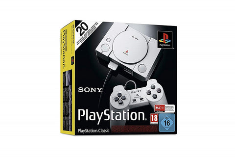 Console Playstation Classic Day One + 20 Jeux UK