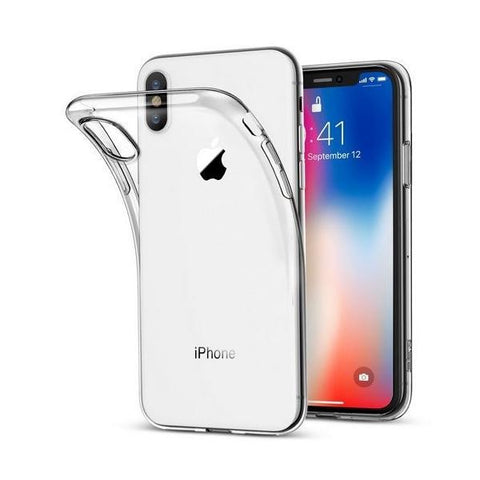 Housse Coque Cover Silicone Gel Transparente iPhone XS Max/XR/8/7/6