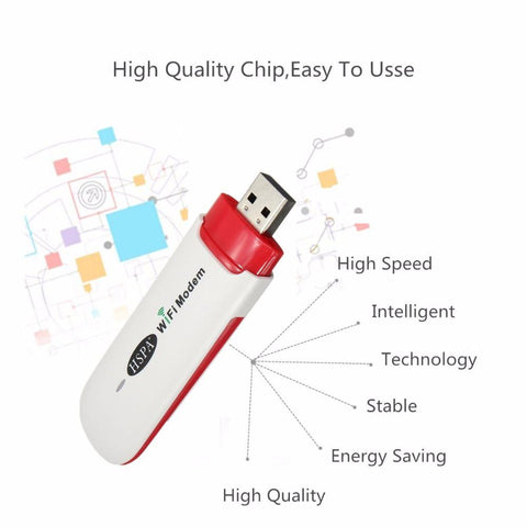 Stick 3G HSPA+ WIFI Modem Dongle USB win/mac/linux/android