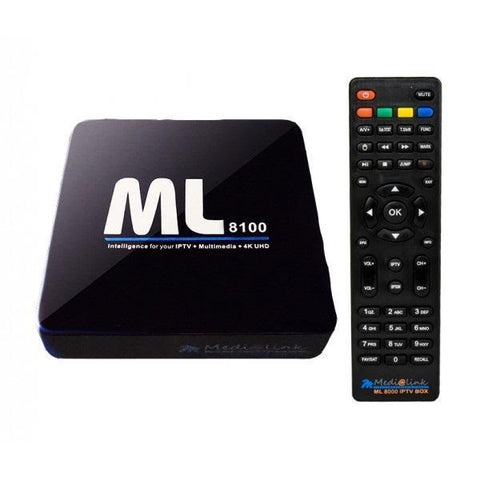 Medialink ML8100 IPTV Linux/Android+WiFi 4K Full UHD 60fps