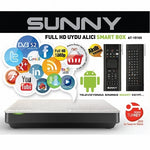 Récepteur Satellite Full HD Sunny AT-15100 Smart Box Android