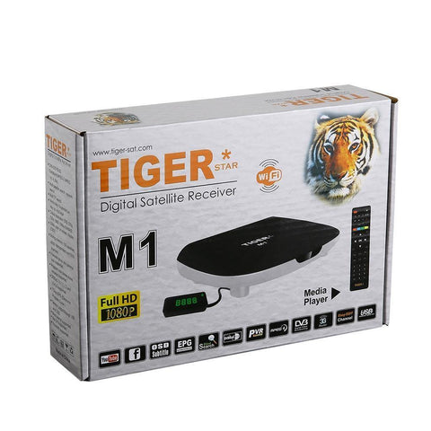 Tiger Star DVB S/S2 Top Box M1 Full HD Récepteur Satellite Numérique