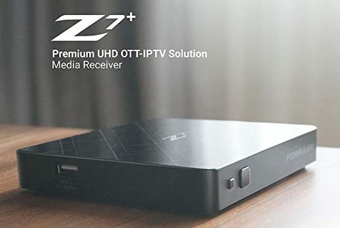 Formuler Z7+ Plus 5G Android 7.0 Quand-Core 2Gb DDR 4K UltraHD 60fps wifi iptv box