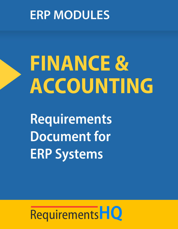 Top ERP Requirements for Finance & Accounting Depts