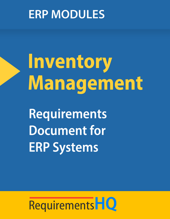 Top ERP Requirements for Inventory Management Operations