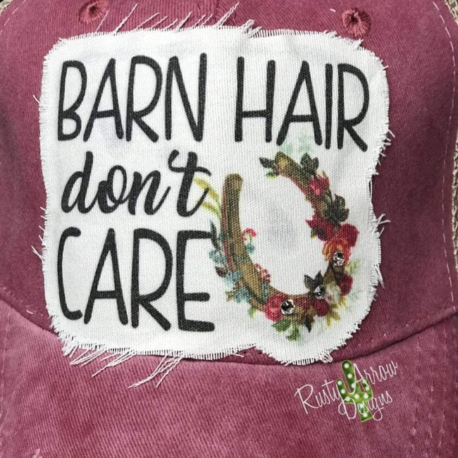 Barn Hair Dont Care Trucker Hat
